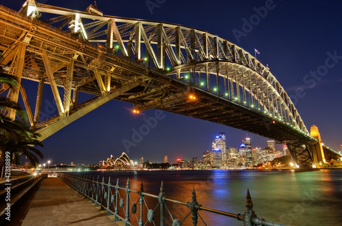 Sydney Harbour Bridge 2 Poster