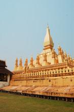 Pha Thad Luang In Vientiane,Laos