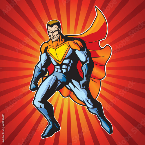 Poster Superheroes hero 4