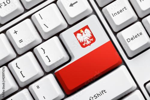 przycisk-klawisz-enter-na-klawiaturze-z-polska-flaga