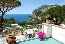 Capri, Balcony View