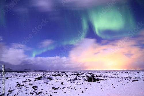 Nordlicht auf Island