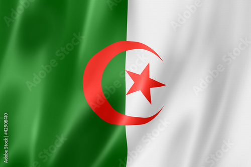 Algerian flag Wallpaper Mural