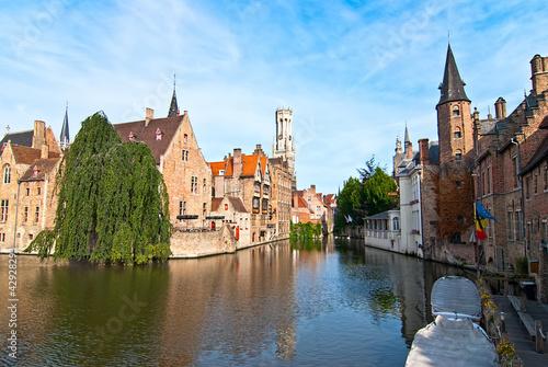 Foto op Plexiglas Brugge Bruges. Belgium.