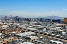 Industrial Buildings And Businesses Surrounding Las Vegas