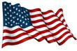 Leinwandbild Motiv Flag of USA