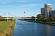 Neckar-Panorama Mannheim