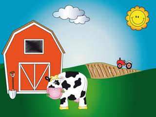 crtić s farmi životinja