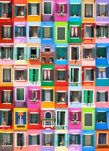Fototapety, obrazy: Couleurs de Burano - Venise - Italie