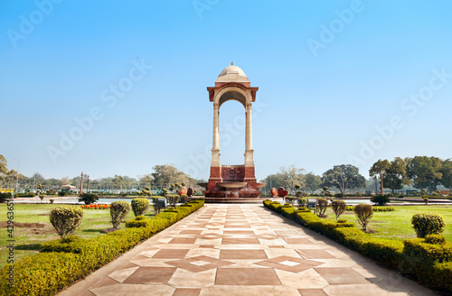 Indian Gate in Delhi
