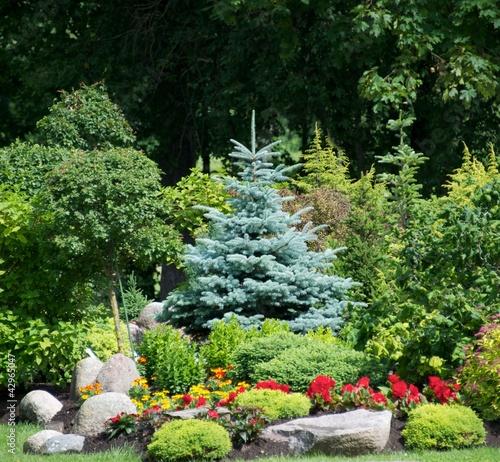 Fototapeta Beautiful garden