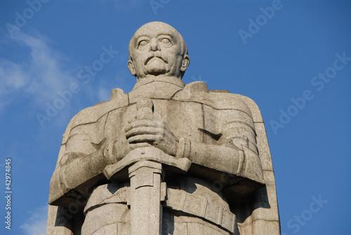 Foto Bismarck Denkmal im Alten Elbpark, Neustadt, Hamburg