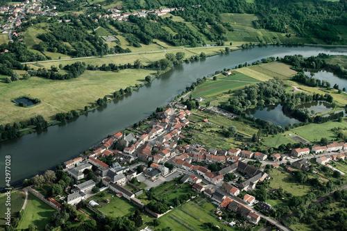 Fotografie, Obraz  Retell en Moselle vue du ciel (57)