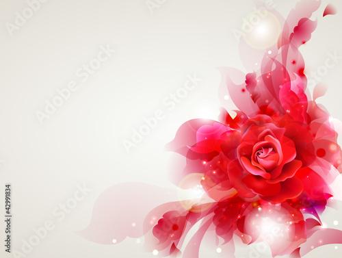 streszczenie-miekkie-tlo-z-czerwona-roza