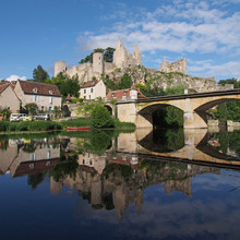 Angles-sur-Anglin, Vienne , Fr...