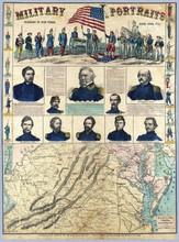 US Civil War Map