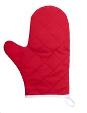 Kitchen Glove On A White Background