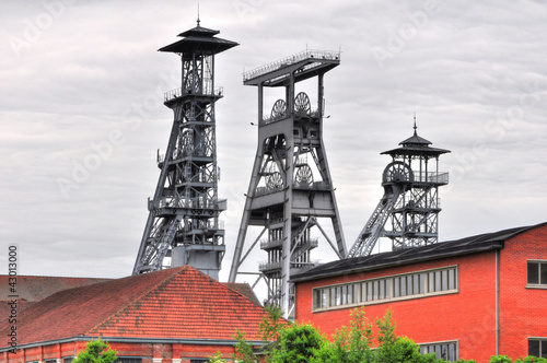 Chevalement au site minier Arenberg