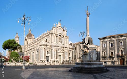 Fotografia Catania Saint Agatha's Cathedral in Sicily