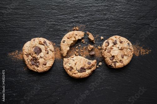 Garden Poster Cookies Cookies au chocolat