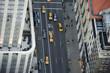 Cabs in Manhattan