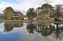 Exterior Facade Of A Australia...
