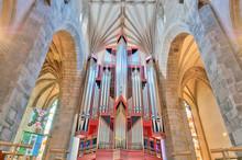 Church Organ In St Giles Cathe...