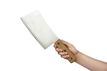 Hand With Kitchen Knife