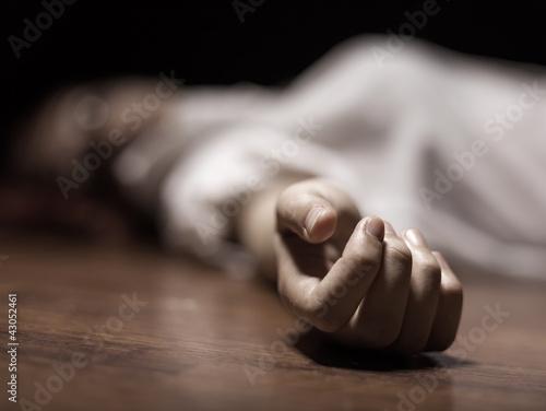 Leinwand Poster Leiche