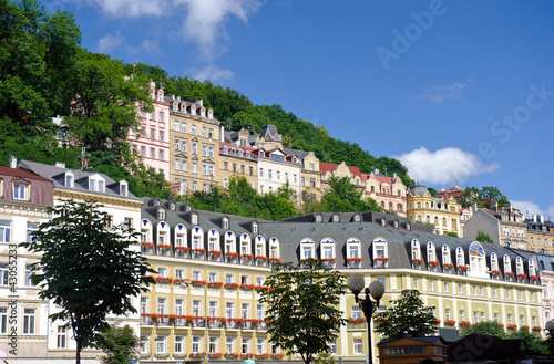 Fotografie, Obraz  City center in Karlovy Vary