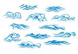 Ocean and sea waves