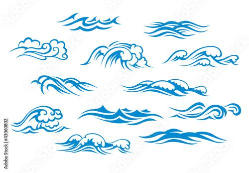 Fototapeta Ocean and sea waves obraz