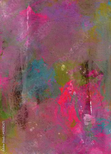 Fototapety, obrazy: farb-texturen-lasuren auf leinwand-struktur