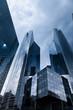 Leinwandbild Motiv Hochhäuser - Büros- real estate
