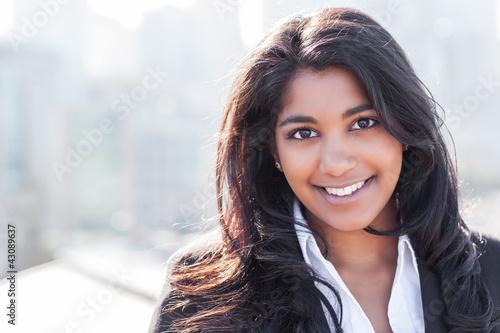 Asian Indian businesswoman Canvas-taulu