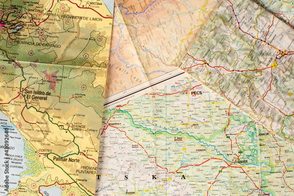 Fototapety, obrazy: Geography background