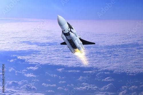 Fototapeta Space transport obraz na płótnie