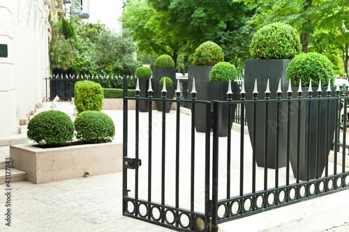 Fotografía  nobler Garten einer Wohnung in Paris