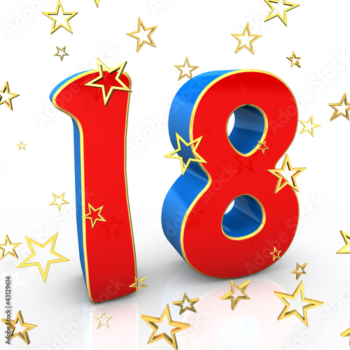 Amazing 18 Years Old Happy Birthday Buy This Stock Illustration And Funny Birthday Cards Online Fluifree Goldxyz