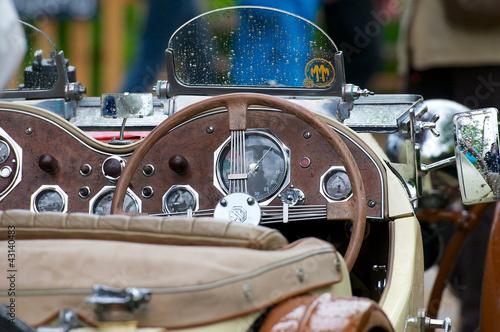 Keuken foto achterwand Vintage cars Oldtimer Holz