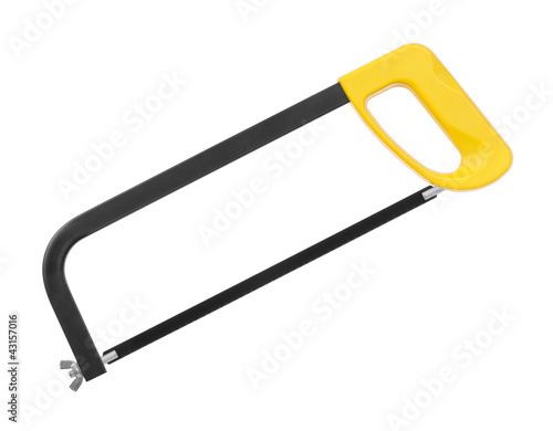Valokuva  hacksaw on a white background