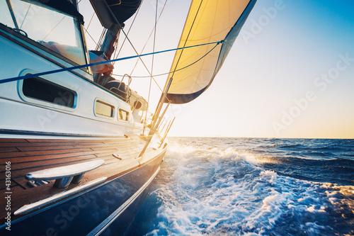 Sailing Fototapeta