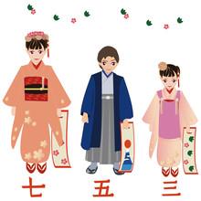 七五三 The Seven-Five-Three Festival