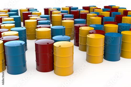 Geliebte Viele verschiedene Ölfässer – kaufen Sie diese Illustration und #ED_44