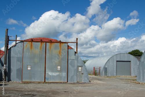 Staande foto Industrial geb. Industrial unit.
