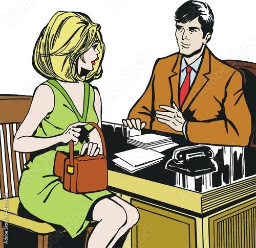 ilustracja-z-para-w-biurze
