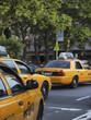 マンハッタンのタクシー