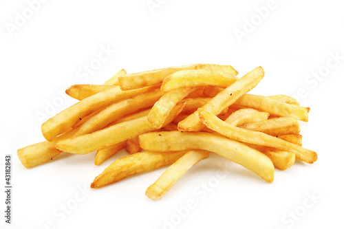freedom fries isolated on white Canvas Print