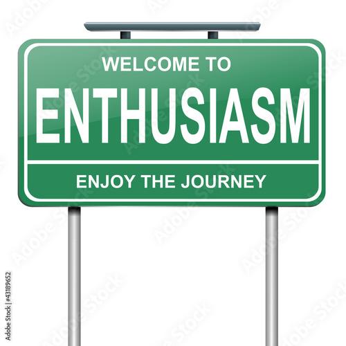 Fotografie, Obraz  Enthusiasm concept.