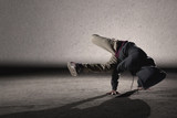 Cool breakdancing style